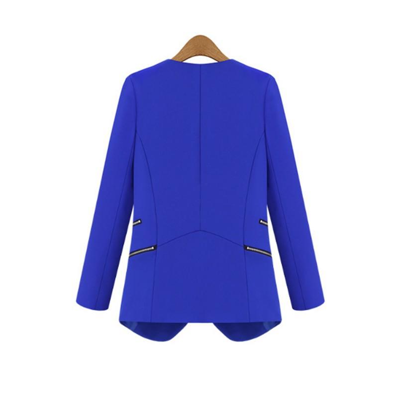 c7a873a5efd5 Marynarka damska żakiet elegancka niebieska s-xl MODITO